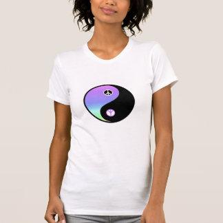Pièce en t de base de paix et d'équilibre t-shirt