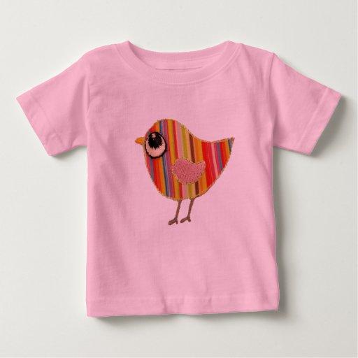 Pièce en t de bébé de birdie t-shirt