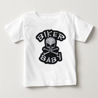 Pièce en t de bébé de cycliste t-shirt pour bébé