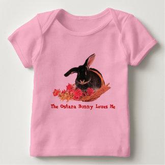 Pièce en t de bébé de lapin d'Ostara T-shirt Pour Bébé