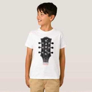 Pièce en t de chef de la guitare de Hank (enfants) T-shirt