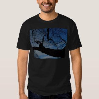 Pièce en t de ciel bleu t-shirt