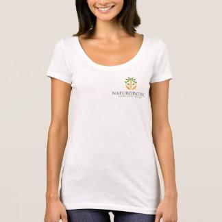 Pièce en t de cou du scoop des femmes de semaine t-shirt