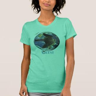 Pièce en t de dames de visite de recherche t-shirt