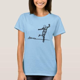 Pièce en t de danse de robinet (adaptée) t-shirt