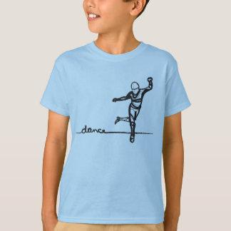 Pièce en t de danse de robinet (enfants) t-shirt
