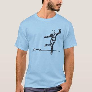 Pièce en t de danse de robinet t-shirt