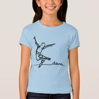 Pièce en t de danse moderne (enfants) t-shirt