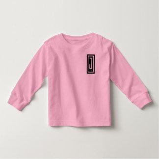pièce en t de douille de conception d'usage des t-shirt pour les tous petits