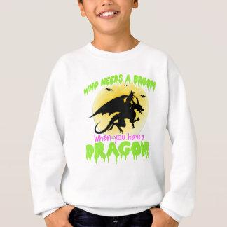 Pièce en t de dragon de Halloween Sweatshirt