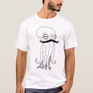 Pièce en t de fantaisie de poulpe t-shirt