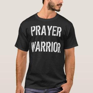 Pièce en t de guerrier de prière t-shirt