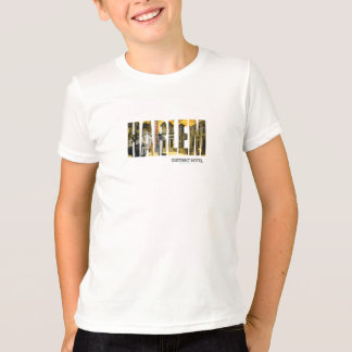 Pièce en t de Harlem du garçon T-shirt
