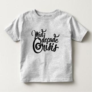pièce en t de la mi-décennie d'anniversaire de t-shirt pour les tous petits