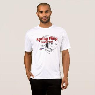 Pièce en t de la représentation des hommes t-shirt