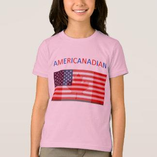 Pièce en t de la sonnerie des filles t-shirt