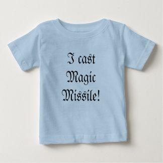 Pièce en t de magicien de bébé t-shirt pour bébé