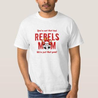 Pièce en t de maman de rebelles t-shirt