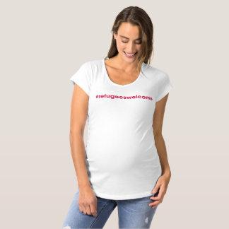 Pièce en t de maternité de #refugeeswelcome T-Shirt de maternité