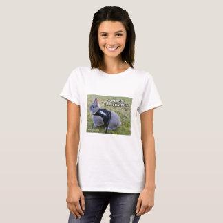 Pièce en t de Mlle Bunz Dial 9-Bun-Bun T-shirt