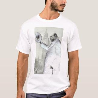 Pièce en t de monsieur Winston Churchill T-shirt