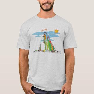 Pièce en t de montagnes russes t-shirt