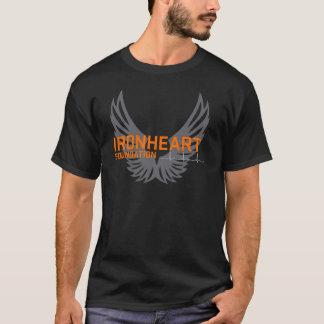 Pièce en t de noir de base d'Ironheart T-shirt