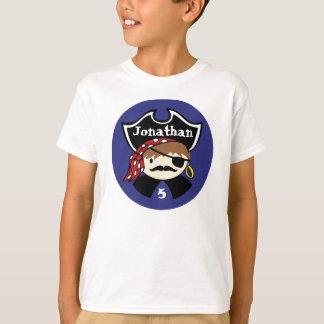 Pièce en t de partie de pirate t-shirt