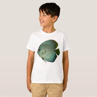 Pièce en t de poissons d'aquarium de T-shirt de