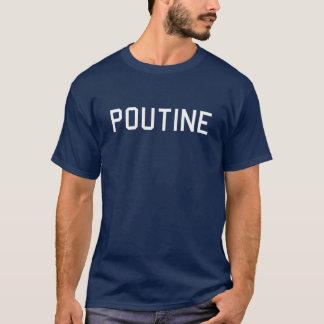 Pièce en t de Poutine - montrez votre fierté de T-shirt