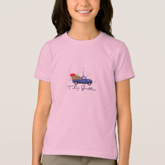 Pièce en t de règle de filles t-shirts