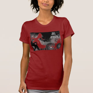 Pièce en t de rouge de Jill Jensen T-shirt