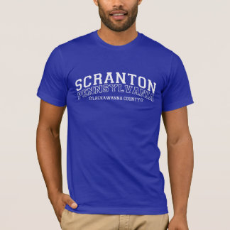 Pièce en t de SCRANTON PENNSYLVANIE T-shirt