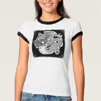 Pièce en t de sonnerie de femmes avec la t-shirts