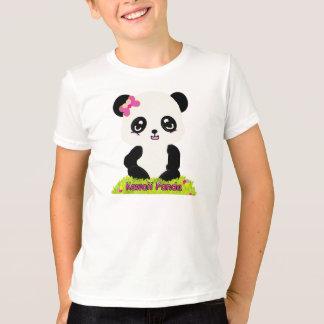 Pièce en t de sonnerie de panda de Kawaii T-shirt