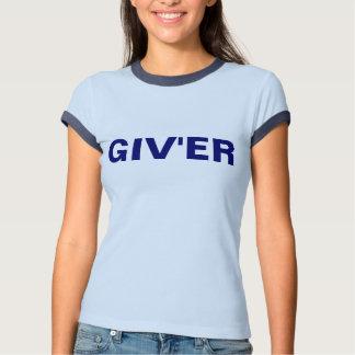 Pièce en t de sonnerie des bleus layette GIV'ER de T-shirt
