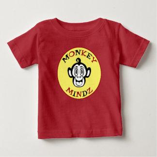 Pièce en t de sourire de bébé de logo de singe t-shirt pour bébé