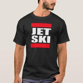 pièce en t de T-shirt de skieurs de skieur de ski