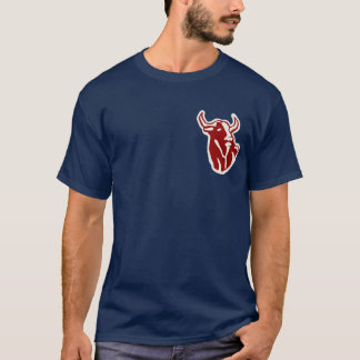 Pièce en t de taureaux de Hackensacak T-shirt