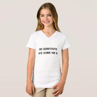 """Pièce en t de """"travail"""" d'enfants d'affect t-shirt"""