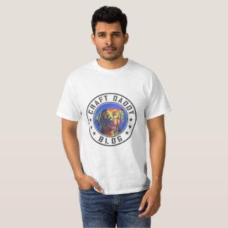 Pièce en t de valeur de logo de blog de papa de t-shirt