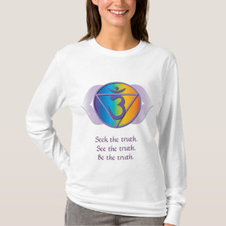 Pièce en t de vérité de troisième oeil t-shirt