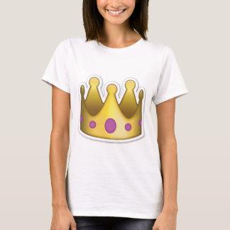 Pièce en t d'Emoji de couronne T-shirt
