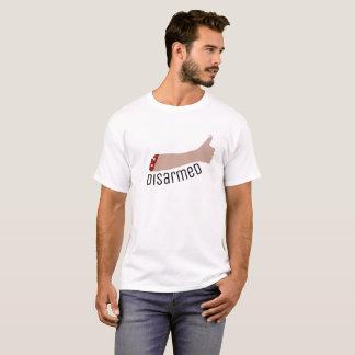Pièce en t désarmée t-shirt