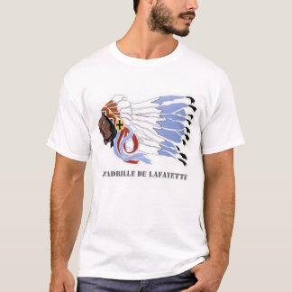 Pièce en t d'escadrille de Lafayette T-shirt