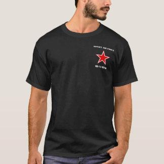 Pièce en t d'hélicoptère HIND du Soviétique MI-24 T-shirt