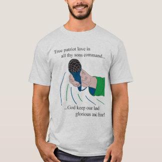 Pièce en t d'hymne de Vancouver Canucks T-shirt