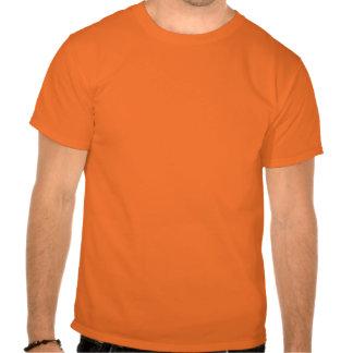 Pièce en t d'icône d'équipe d'atlas, orange t-shirt