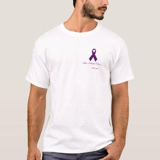 Pièce en t d'insuffisance de álpha-1-antitrypsine t-shirt