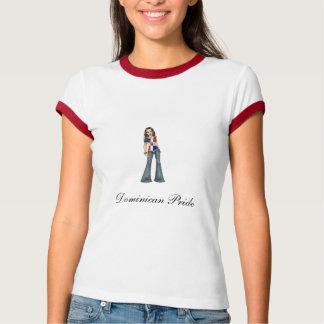 Pièce en t dominicaine de fierté t-shirts